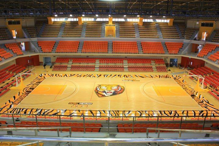 Basketball court ust quadricentennial pavilion