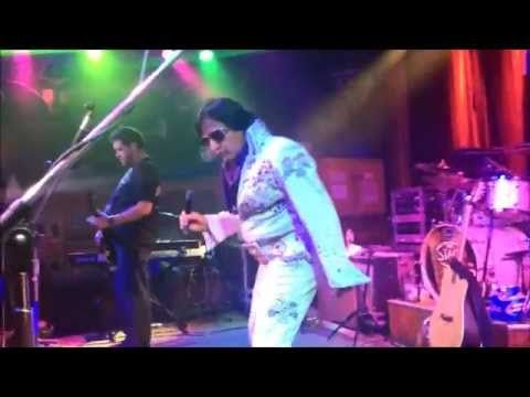 Nashville Elvis Impersonator Chuck Baril performs Hound Dog at The Stage in Nashville. For bookings call/text 615-881-4145.