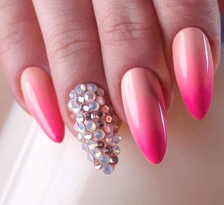 Beautiful ombre from Angelika Wrobelin love Gel Pish Miami Collection Shop now⬇️⬇️⬇️ www.indigonails.ie #nailsproducts#nailssuplierireland#inlinenails#beatysalon#gelpolish#gelnails#summernails#summernailart#ombrenails#indigonails#indigoireland