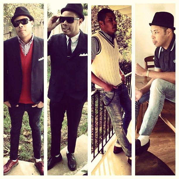 Rudy stylin'- Rude Boy fashion style