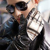 Dame Brown Vinter Varm Full Finger Gloves – NOK kr. 192
