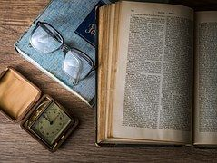 Wissen, Buch, Bibliothek, Gläser