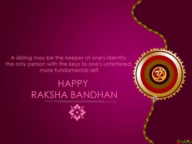 Those ifs & buts, Those smiles & cuts, Those joys & cuddles, We remember it all.... Happy Raksha Bandhan!