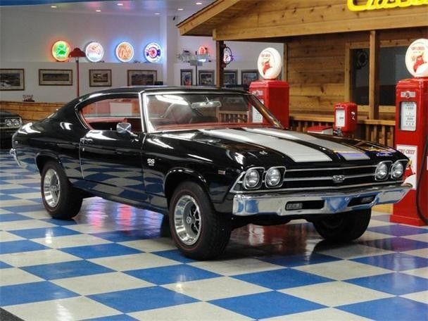 1969 Chevelle SS.... another beautiful example of American Muscle.