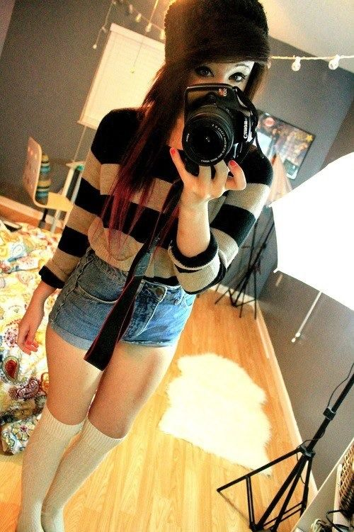 found on: http://perfect-scenequeen.tumblr.com/ - scene style-fashion-cute