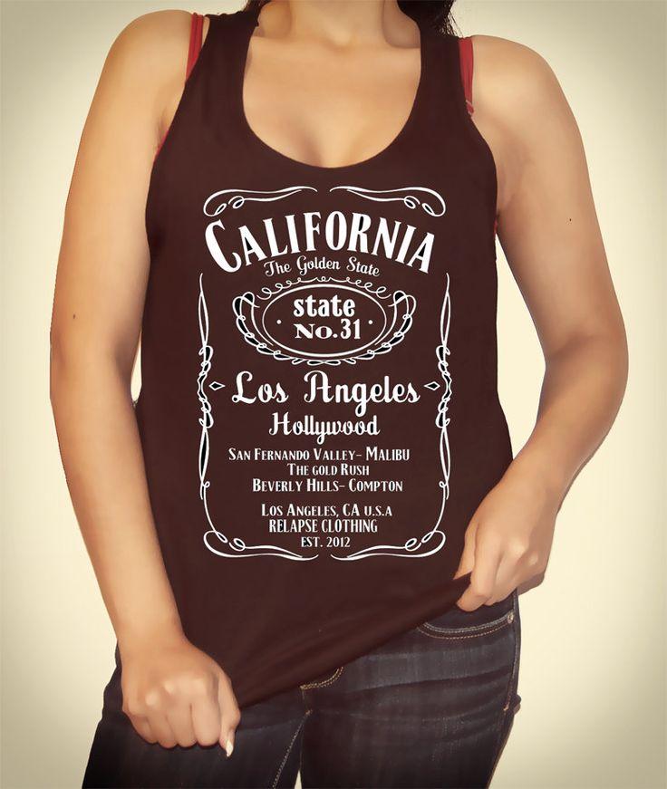 california jack daniels american apparel tank shirts. Black Bedroom Furniture Sets. Home Design Ideas