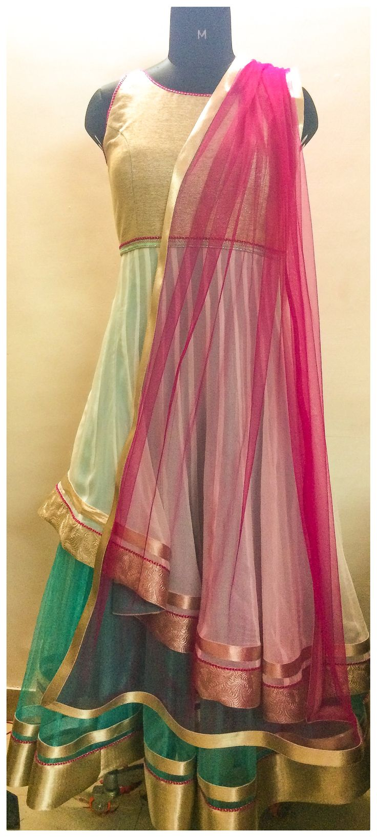 double layered tulle net dress..love it..