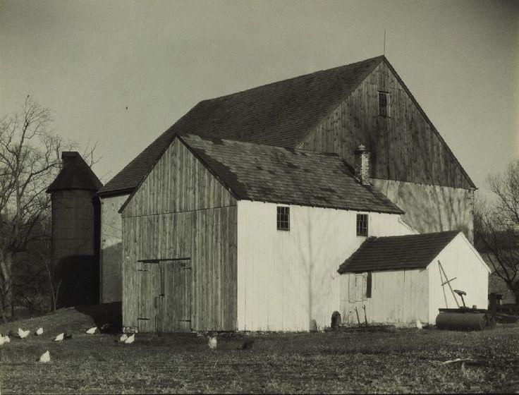 Bucks County Barn, Charles Sheeler