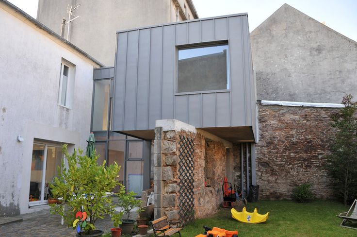 Extension du0027une maison à Brest (29) Extensions, Atelier and House