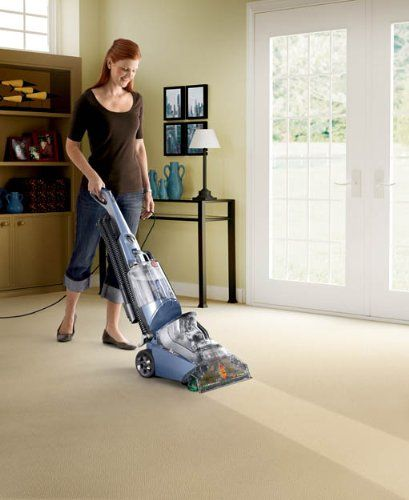 carpet hoover. this carpet cleaner features cleansurge boost to easily clean spots and heavy-traffic areas pressurized edge-to-edge cleaning loosen di . hoover