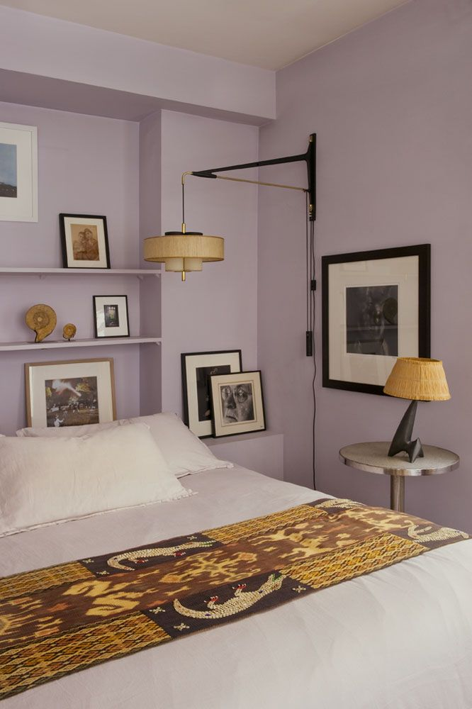 Purple Wall Bedroom Decor: 303 Best Images About Purple Walls On Pinterest
