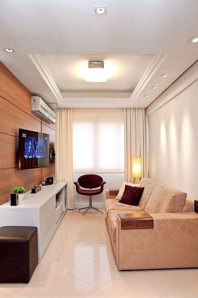 Lustre Para Sala Pequena: 40 Modelos E Dicas Para Escolher Bem · Home  Theater DesignHome ...
