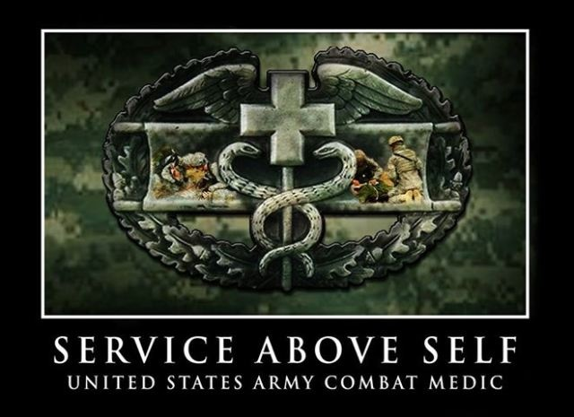 Memorial Day: The Unseen Heroes of War- Remember those lost but, dont forget those who fight and heal, the Combat Medic.