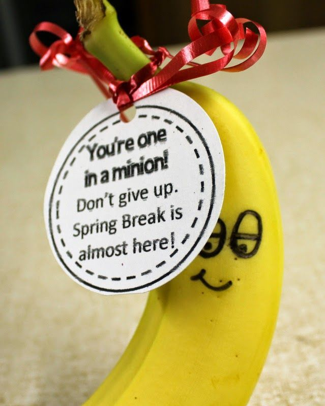 Gifts to give to staff members to improve employee morale #banana #youreoneinaminion #sweettreats