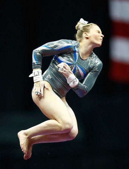 Mykayla Skinner in P&G Gymnastics Championships