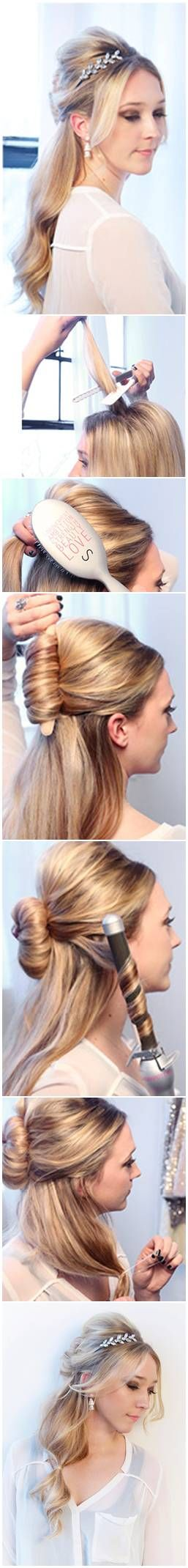 How To: Red carpet hair