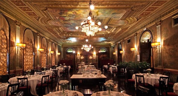 The breakfast room - Grand Hotel Plaza - Roma