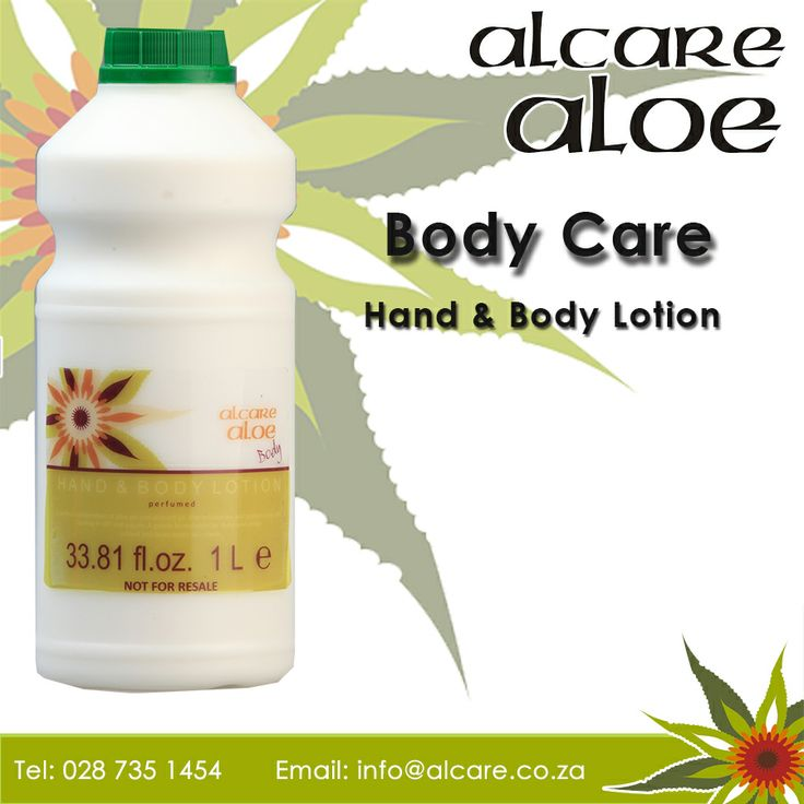 Body Care. Hand & Body Lotion. Now available in a 1L Bottle. Order online: http://on.fb.me/1fJVdeb #bodycare #lotion #aloe