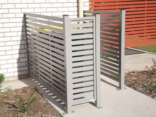 modern bin enclosure #storage #garden