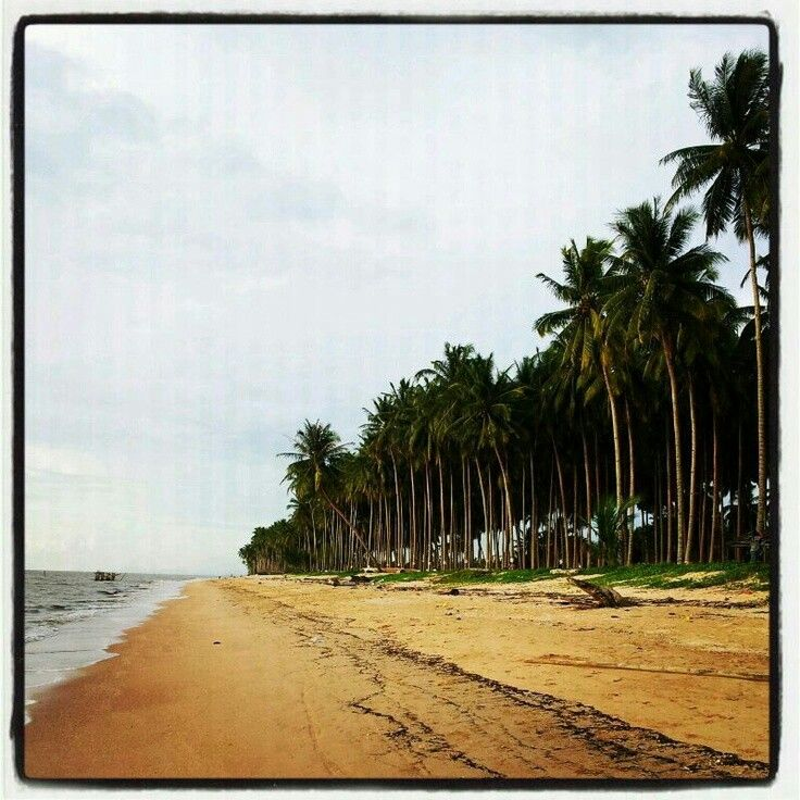 Longsand beach westborneo-indonesia
