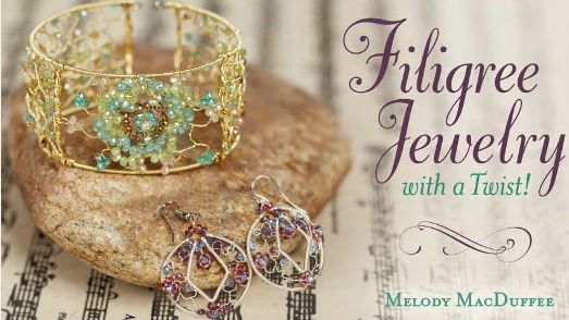 Melody MacDuffee's $30 Twisted Wire Jewelry Workshop Video Giveaway ~ The Beading Gem's Journal