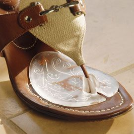 Flip-Flop Gel Cushions, Clear Pads for Thong Sandals | Solutions