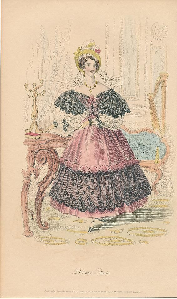 Womens fashions from 1800 to 1833