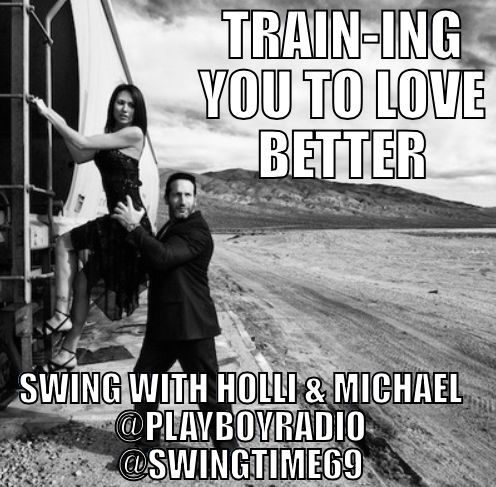 Listen for me on #Playboy Radio #swing with Holli and Michael in December! I will have a time and time soon!