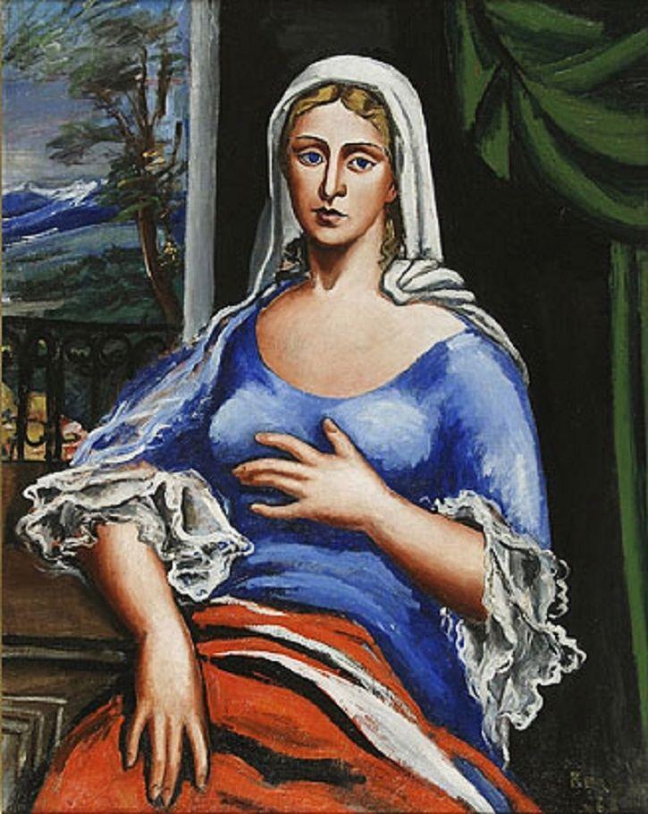 Retrato de mujer (1928) Antonio Berni