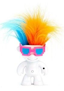 Wowee: ElectroKidz Toy-Matte White These toys are hysterical. They move to music that is played, but also anyone singing. Great and very, very sensitive. Way across the room. So adorable. http://awsomegadgetsandtoysforgirlsandboys.com/wowwee/ Wowee: ElectroKidz Toy-Matte White