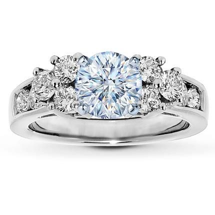 135 best wedding ENGAGEMENT RING images on Pinterest White gold