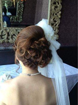 ヘアーアンドメイクボーノ(Hair & Make Buono)ブライダル 編み込みスタイル