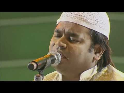 Khwaja Mere Khwaja - A.R.Rahman Live at Sydney 2010    SO beautiful.