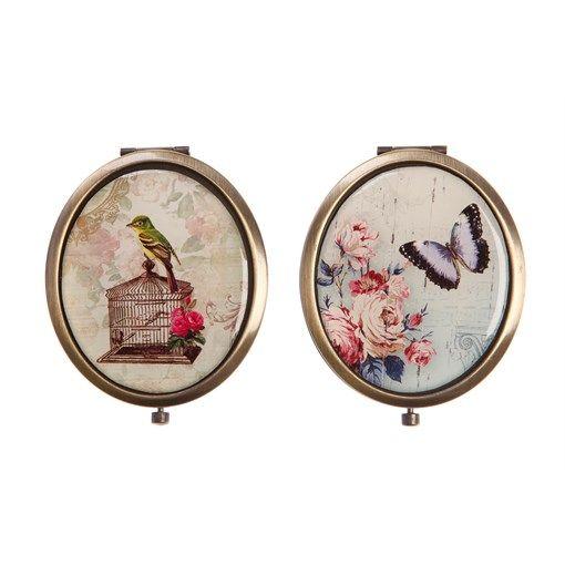 Classic Garden Mirror Oval Assorted