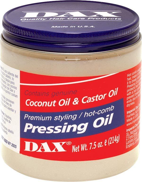 Dax Pressing Oil Coconut Oil Hair Dryness Dax