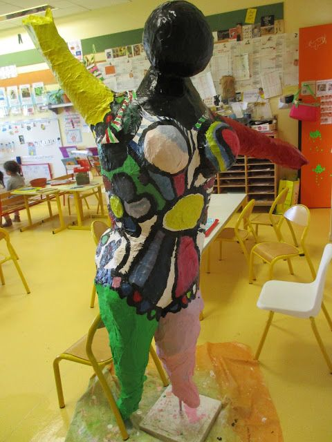 Les travaux de maternelle et autres niveaux...: ART CONTEMPORAIN