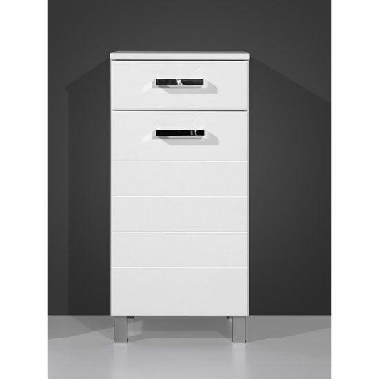 Elegance White Freestanding Bathroom Cabinet 5727 84 122 95 Bathroomcabinet Furnitureinfashion