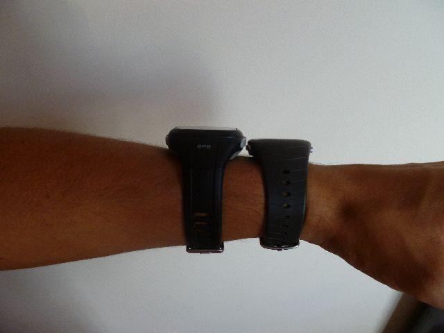 Troco Monitor cardíaco, frequencimetro polar ft40 e relógio timex ironman c/ GPS