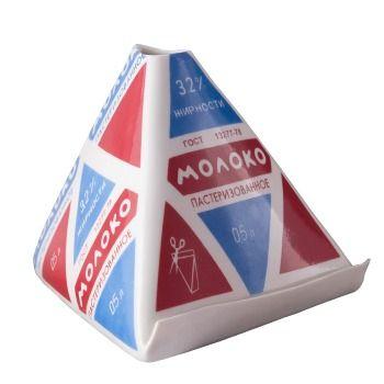 Пакет молока, фарфоровая ваза