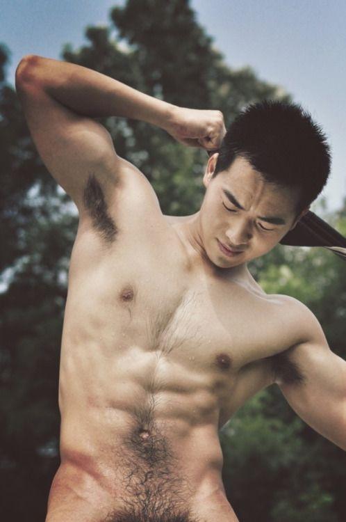 Asian hairy hot