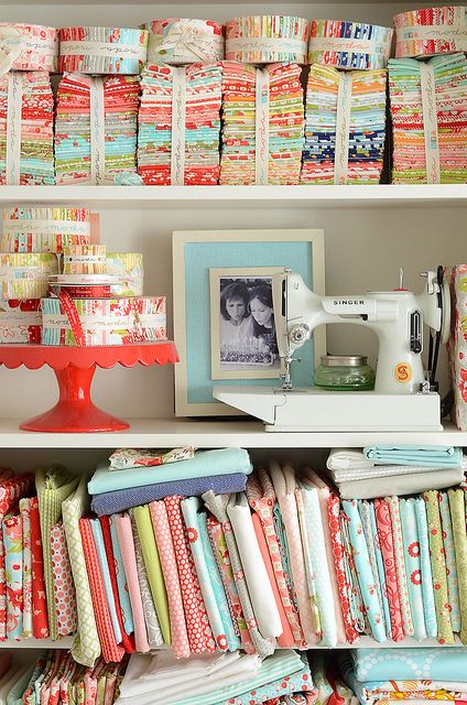 Sewing Heaven! Camille Roskelley's Sewing Studio.