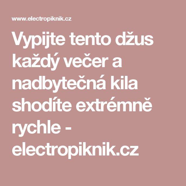 Vypijte tento džus každý večer a nadbytečná kila shodíte extrémně rychle - electropiknik.cz