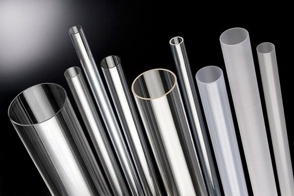 Led strip plafondrand, hoger deel opaal tube met led strip. Geometrisch design