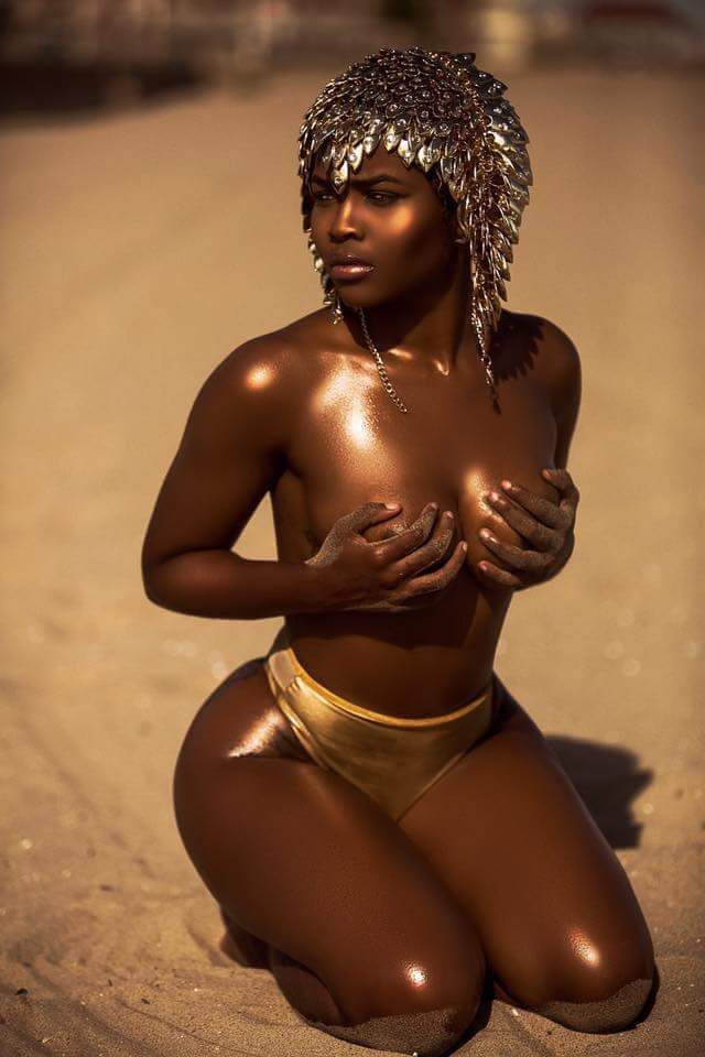 most beautiful ebony women
