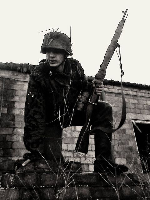 In Normandy, German snipers remained hidden in the dense vegetation and were able to encircle American units, firing at them from all sides. The American and British forces were surprised by how near the German snipers could safely come and attack them, as well as by their ability to hit targets at up to 1,200m .What if germany enrolled a more effective Sniper program before the war instead of 1942 during the  attack of stalingrad