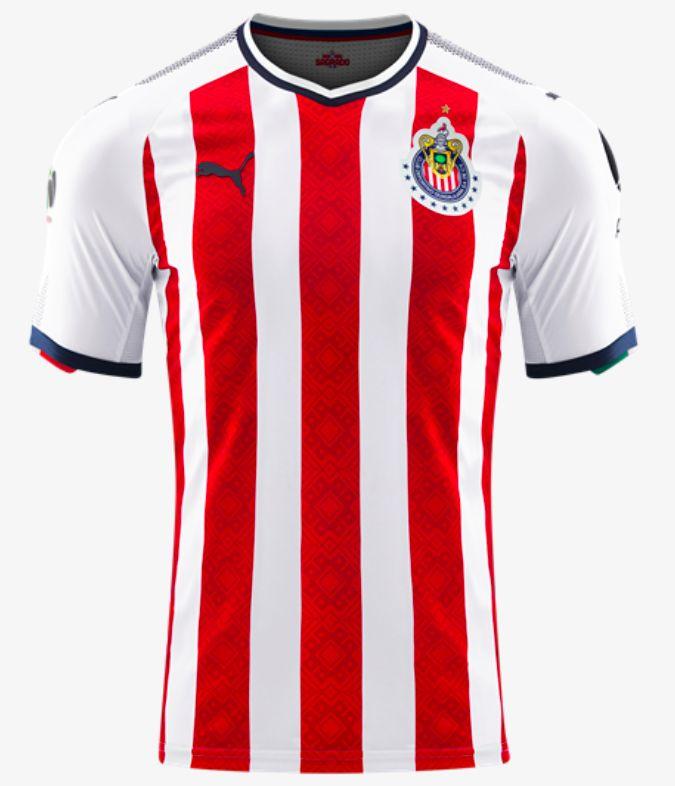 Chivas Guadalajara F.C. Home Jersey 17/18