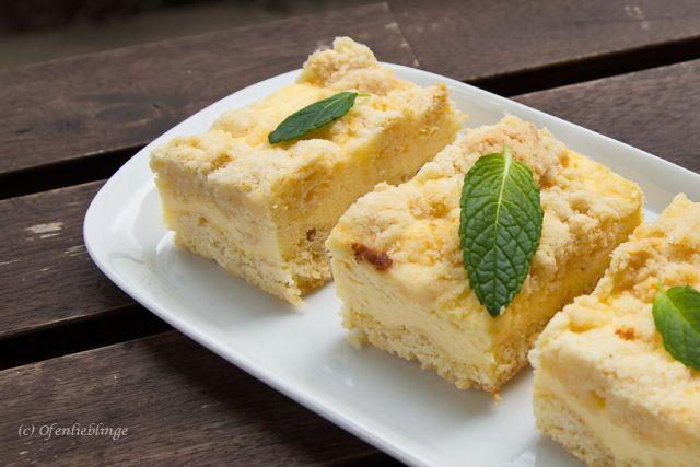 Butterstreuselkuchen mit Quark