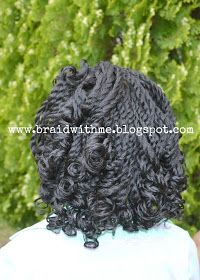Braid with Me: Curly Two-Strand Twists
