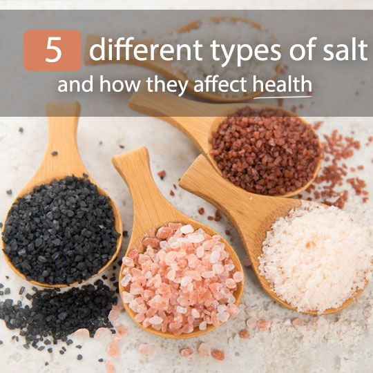 To salt or not to salt ... that is the question! See the top 5 different types of salt and how they affect health.