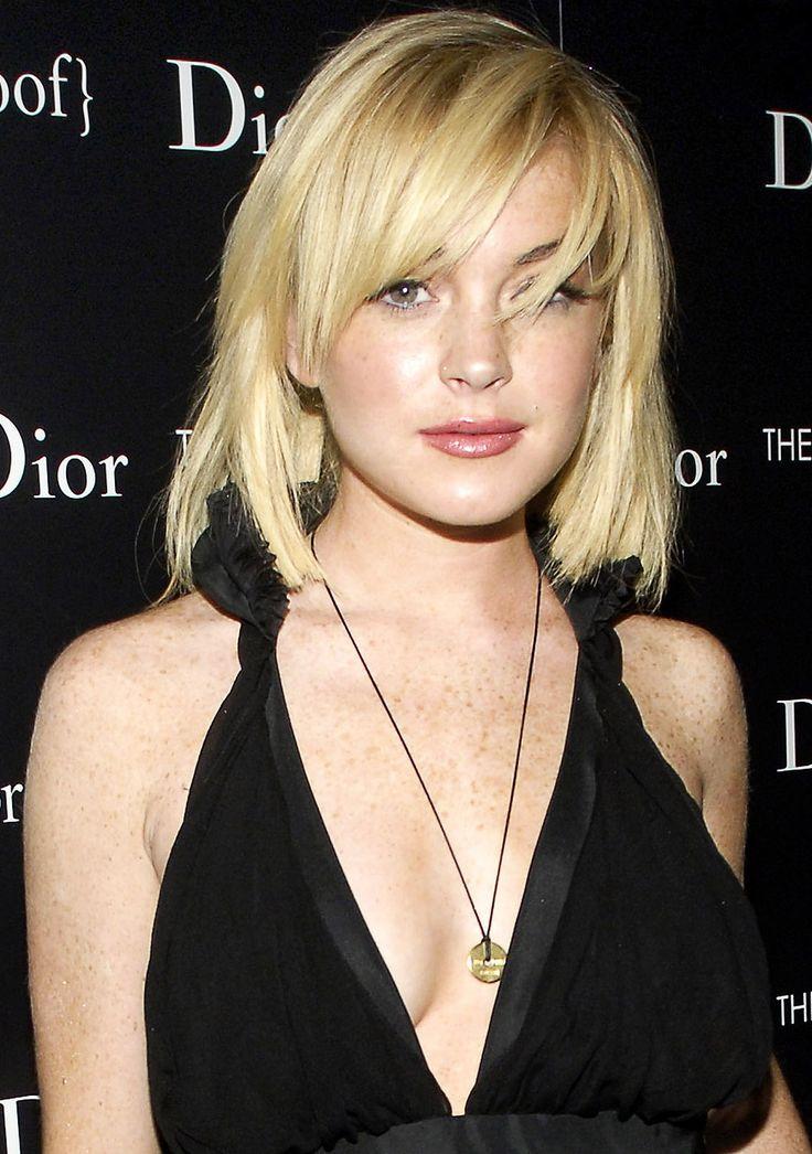 Lindsay Lohan's Hair Evolution: Chic Crop